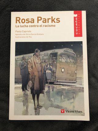 """Libro Rosa Parks """"La lucha contra el racismo"""""""