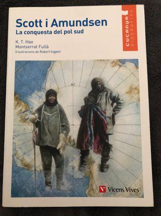 """Llibre Scott i Amundsen """"La conquesta del pol sud"""""""