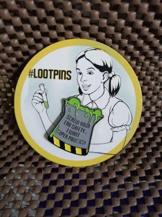 Pin Lootcrate