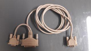 Cable Monitor y otro.