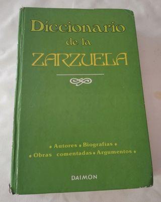 Diccionario de la zarzuela.
