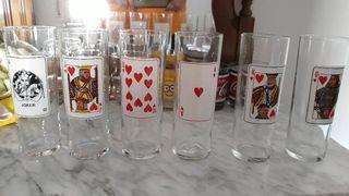Vasos de tubo de Poker