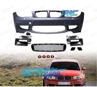 PARAGOLPES DELANTERO C/PDC BMW E81 E87/E82 LOOK EV