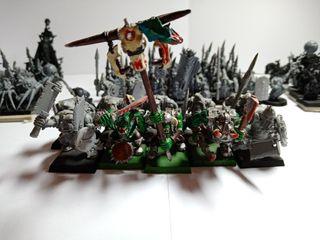Warhammer fantasy Orcos Grandotez