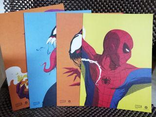Pack láminas de Spiderman