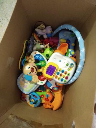 Caja de juguetes.
