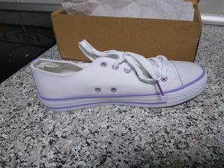 Zapatillas Deportivas Blancas mujer