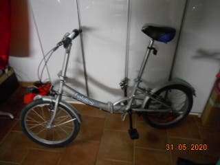 Bicicleta Plegable Aluminio Folding