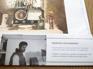 Bodegón de Francisco José Barranco