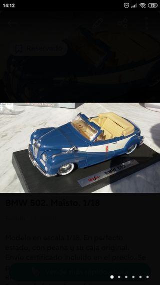 BMWs 502 y 327 1/18