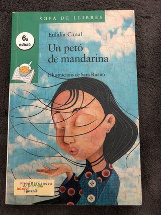 """Llibre """"Un petó de mandarina"""""""