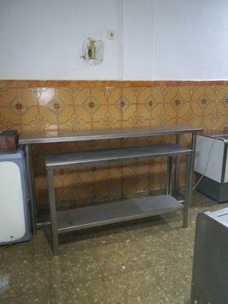 mesas de trabajo para cocina