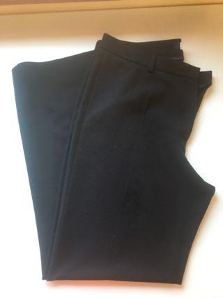 Pantalon de vestir negro señora Talla 48