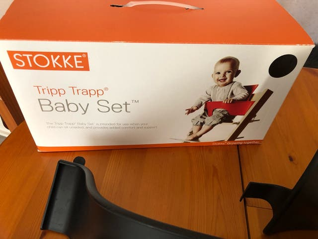 Baby set tripp trapp stokke