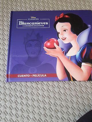 blancanieves. cuento + pelicula dvd