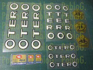 Bici Otero clasica adhesivos vinilos pegatina