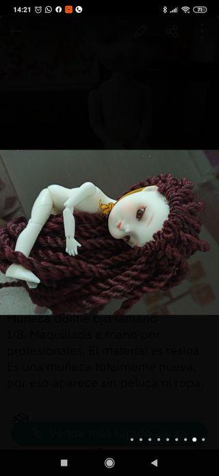 Muñeca dollfie BJD