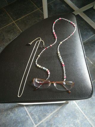 cadena para gafas