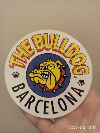 Pegatina The Bulldog Barcelona Original
