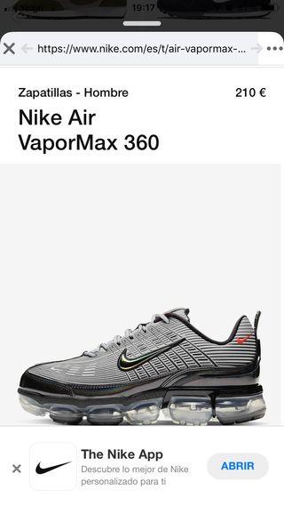 Zapatillas Nike air vapormax 360