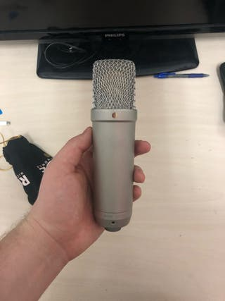 Microfono condensador Rode NT1-A