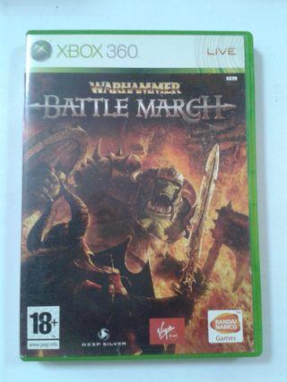 WARHAMMER BATTLE MARCH. XBOX 360