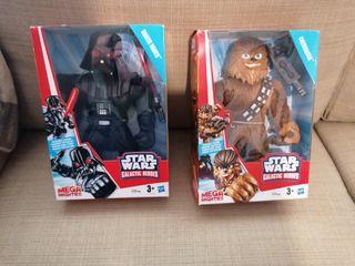 StarWars Galactics Heroes. Darth Vader y Chewbacca