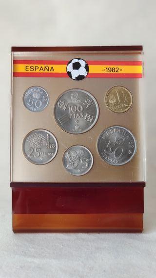 Monedas conmemorativas Mundial 1982