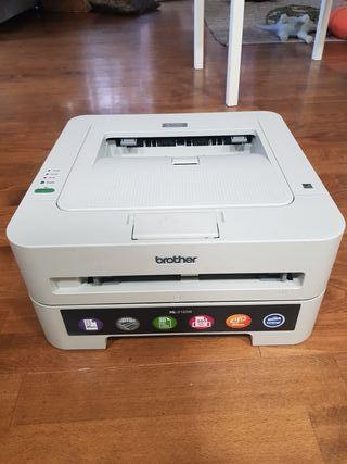 impresora láser negro