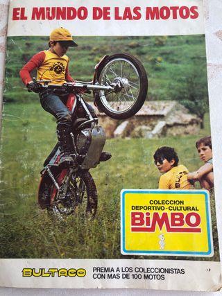Álbum el mundo de las motos