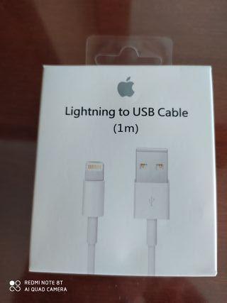 Cable original de iPhone