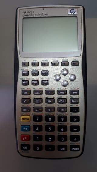 calculadora cientifica hp 49g