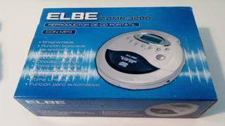 Reproductor CD/MP3 portatil