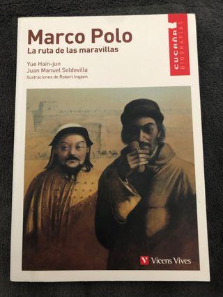 """Libro Marco Polo """"La ruta de las maravillas"""""""