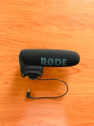 Micrófono Rode video mic pro