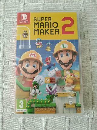 Videojuego Super Mario Maker 2