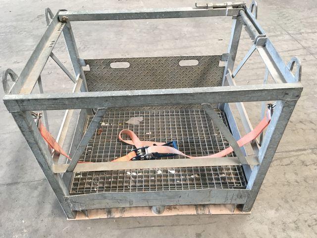 Cesta metálica de seguridad
