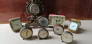 Lote relojes antiguos