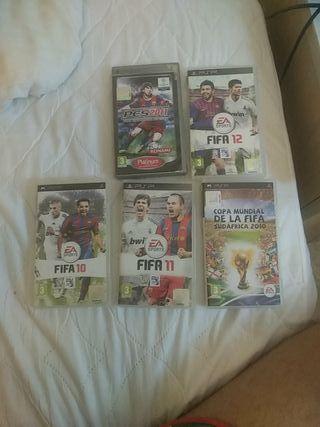 Pack videojuegos PSP