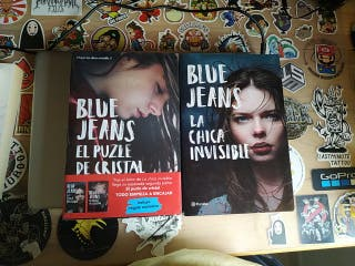 Blue Jeans la chica invisible 1 y 2