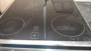 horno y encima