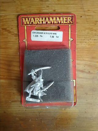 Elfo Warhammer quest