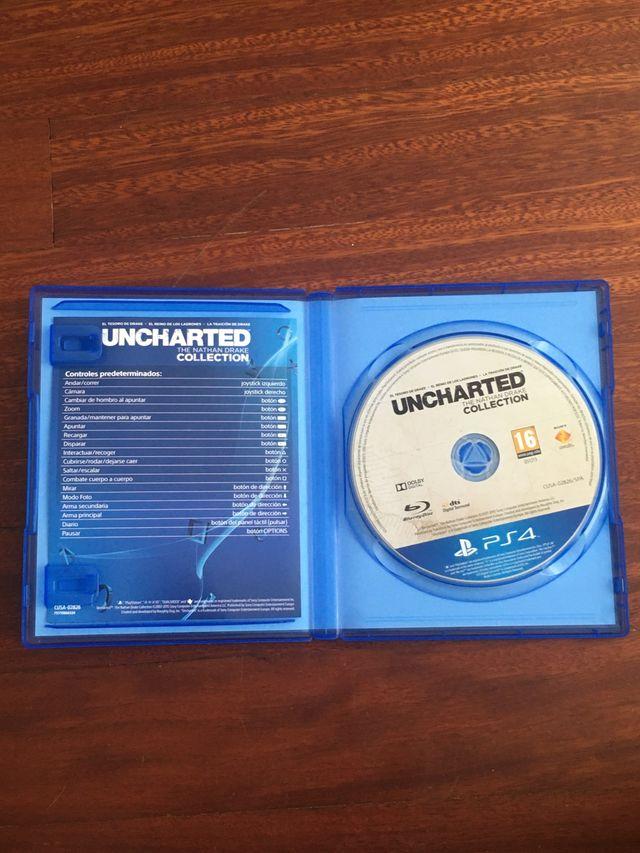 Videojuego Uncharted