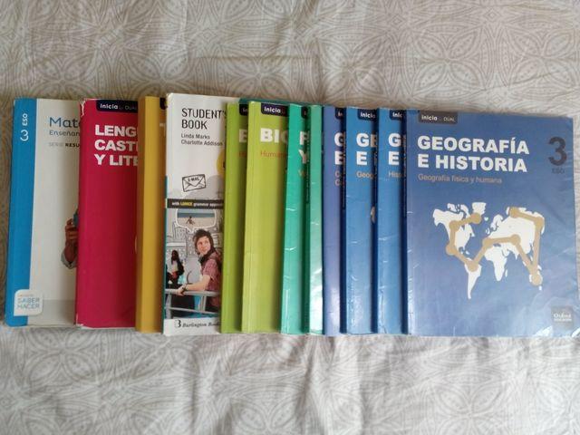 Pack libros 3° de eso