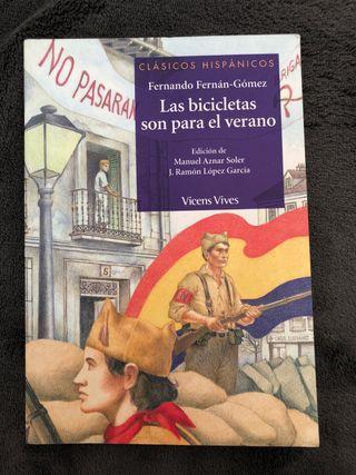 """Libro """"Las bicicletas son para el verano"""""""