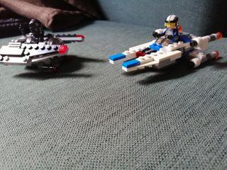 Naves de lego Star wars (pequeñas)