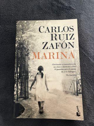 """Libro """"Marina"""" de Carlos Ruiz Zafón"""