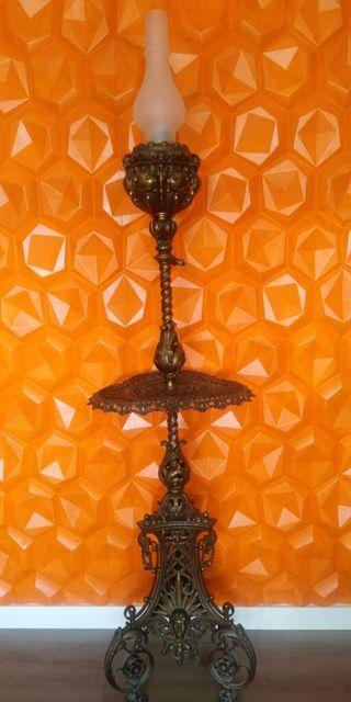Lámpara de pie siglo XIX GAS