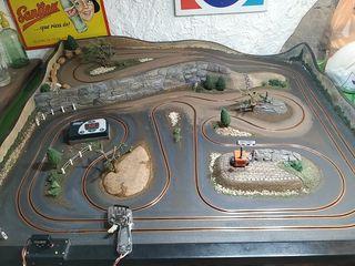 circuito rally slot scalextric