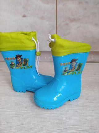 Botas de agua niño
